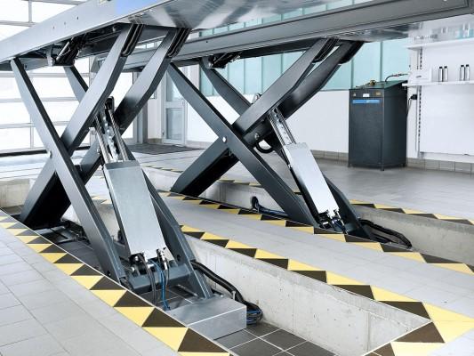 Beissbarth VLS 5450A - elevator tip foarfeca