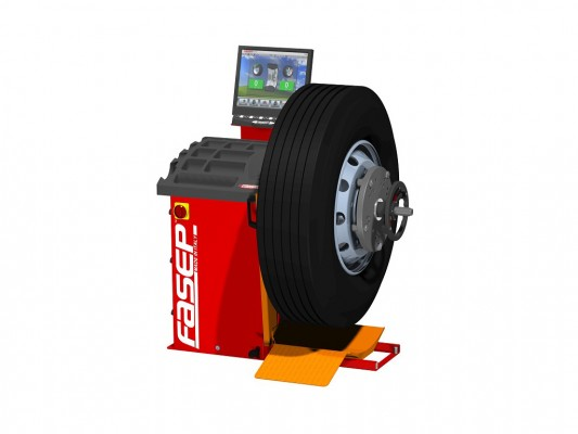Masina pentru echilibrarea rotilor Fasep V590