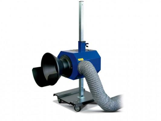 Sistem exhausare gaze esapament pentru autoturisme si camioane Tecnolux 5500