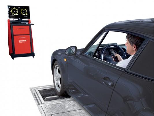 Stand pentru verificarea franelor si suspensiei la autoturisme si autoutilitare Cartec Videoline 204 RP