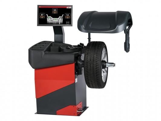 Masina de echilibrat roti de autoturisme, motociclete si autoutilitare Sicam SBM Wave 5 Touch AWLP