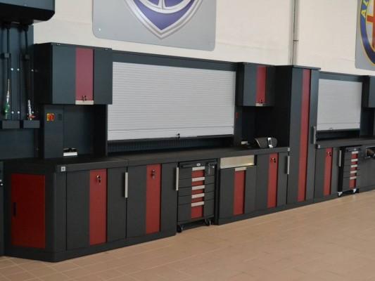 Mobilier pentru atelierele auto Filcar