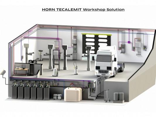 Sisteme si echipamente pentru management, transfer si recuperare ulei, vaselina, AdBlue, antigel - Tecalemit