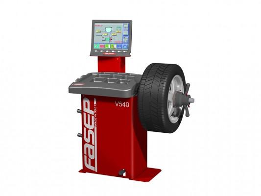 Masina pentru echilibrarea rotilor Fasep V540 Nuvi