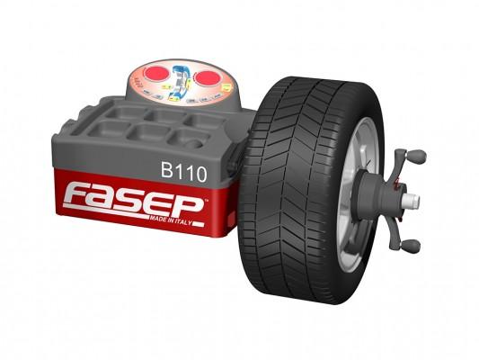 Masina pentru echilibrarea rotilor Fasep B110 Vaneo