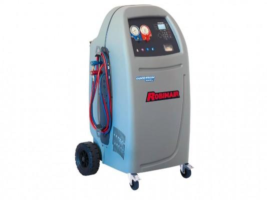 Echipament complet automat pentru verificarea si intretinerea instalatiilor de climatizare auto Robinair AC690 PRO YF