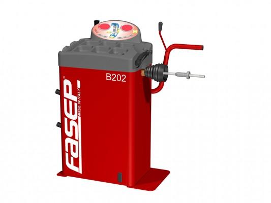 Masina pentru echilibrarea rotilor Fasep B202 Moto
