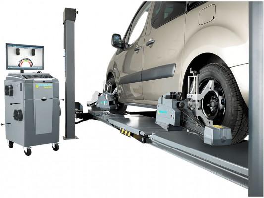 Echipament pentru verificarea si reglarea geometrie rotilor Beissbarth Easy CCD Plus Excellence Opel