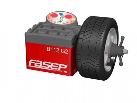 Masina pentru echilibrarea rotilor Fasep B112 Shorty