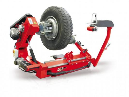 Masina profesionala pentru montat-demontat anvelope mari de camioane si autobuze Space GG 526N
