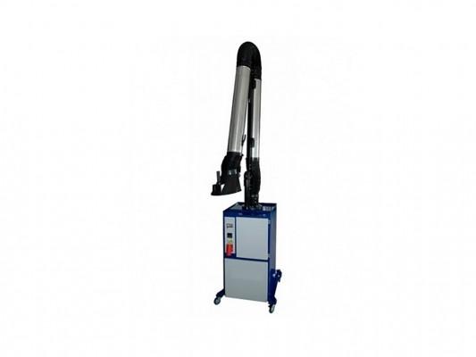 Echipament mobil aspirare si filtrare mecanica cu filtre amovibile a fumului de sudura Filcar Ecominor
