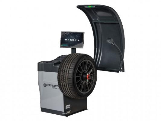 Masina de echilibrat roti de autoturisme, autoutilitare si motociclete Beissbarth MT 857 L