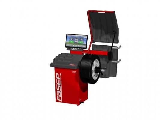 Masina pentru echilibrarea rotilor Fasep V585-2 Premium