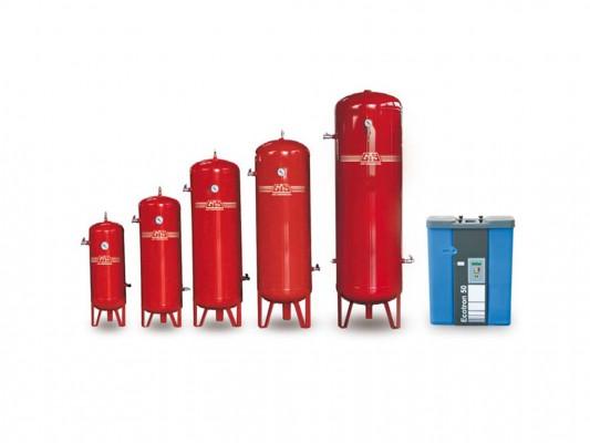 Rezervoare verticale pentru aer comprimat GIS