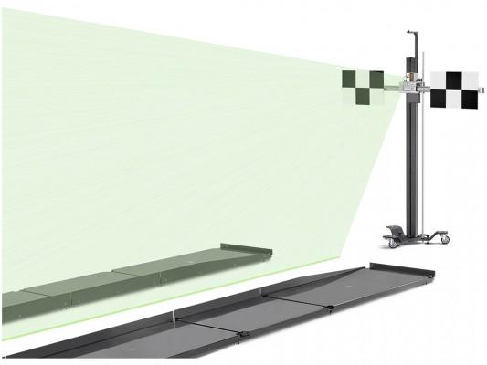Sistem multi-brand pentru calibrarea radare si camere Beissbarth FAS 415