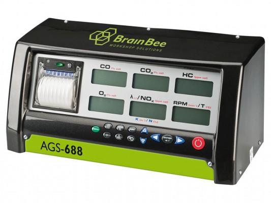 Combina analizor gaze, opacimetru si turometru universal, AGS 688, OPA 100, MGT 300R Evo BrainBee
