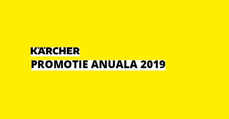 Oferta anuala KARCHER gama produse professional 2019