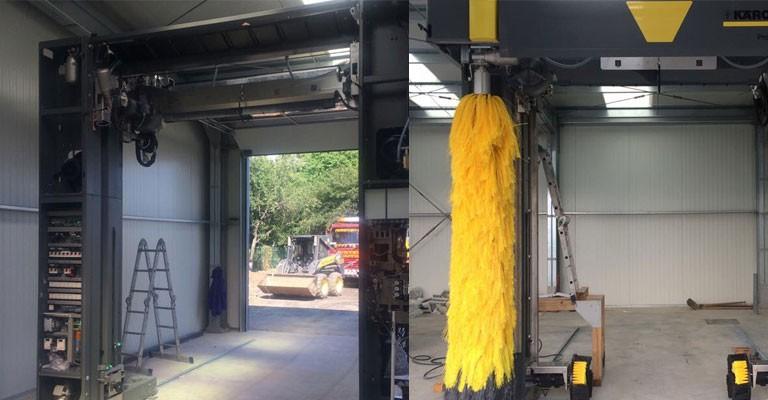 Instalatie spalat auto Karcher - Ploiesti