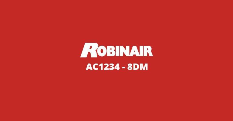 Robinair AC1234-8DM