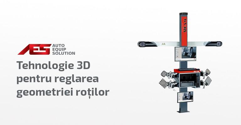 Echipamente pentru verificare si reglare geometrie roti - tehnologie 3D - Sicam, Italia